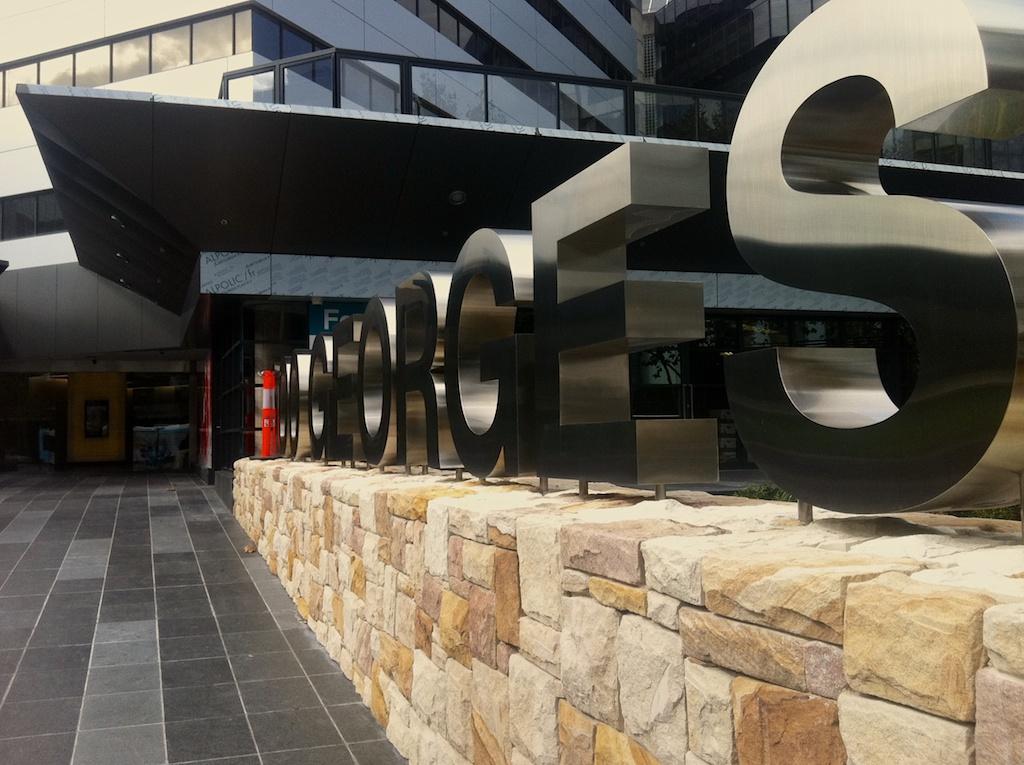 Parramatta, George Street  Landscape Architecture