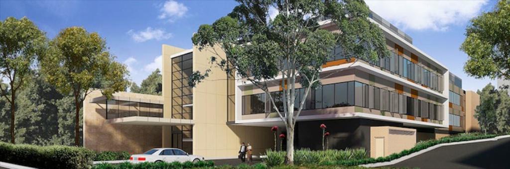 Ryde Hospital Extension  Landscape Architecture