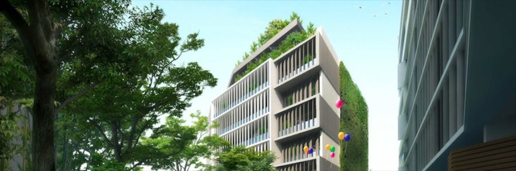 Rockdale, Mixed Use Developments  Landscape Design, Residential Estate Design