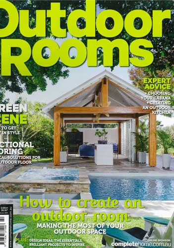 Outdoor Rooms  March, 2014 Article about our contemporary backyard design in Balmoral, NSW