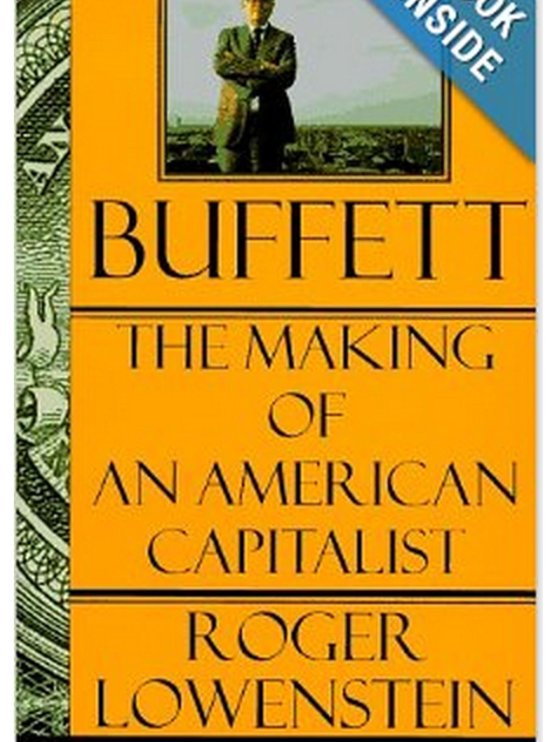 Buffett: The Making Of An American Capitalist.     Roger Lowenstein    1995