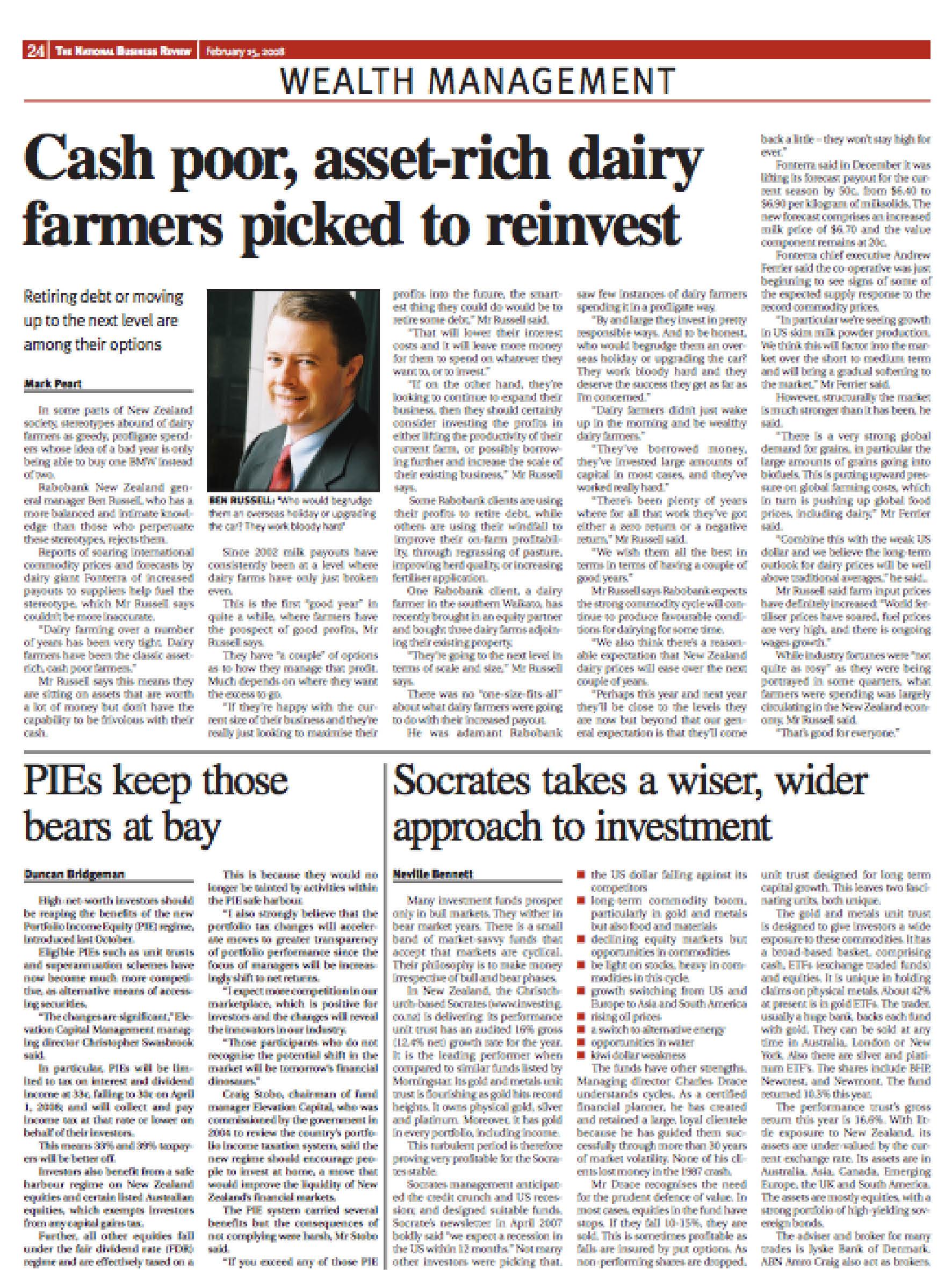 "NBR: ""PIES"" - February 2008"