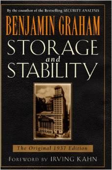 Storage and Stability     Benjamin Graham    1997