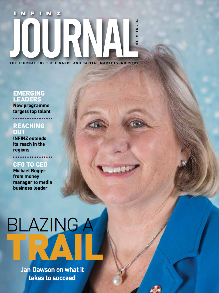 INFINZ Journal:Emerging Leaders - December 2016