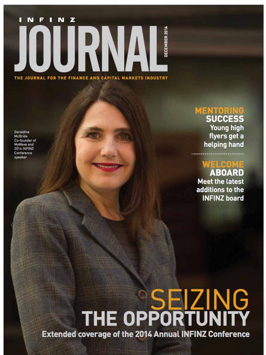INFINZ Journal: Mentoring Success - December 2014
