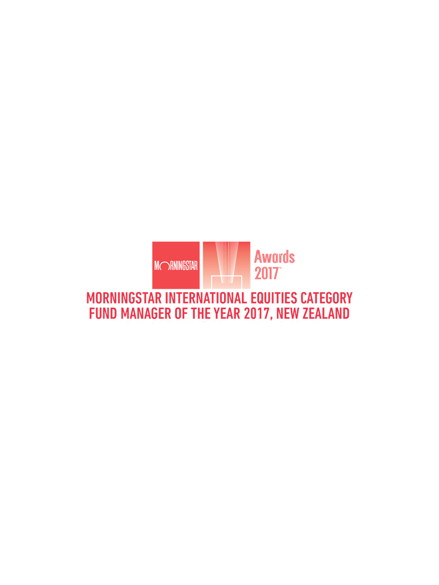 Morningstar: International Equities Category Fund Manager of the Year 2017, New Zealand - Elevation Capital - March 2017