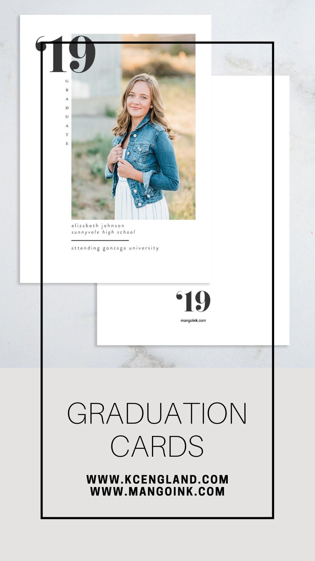 Mango Ink Graduation Cards Class of 2019