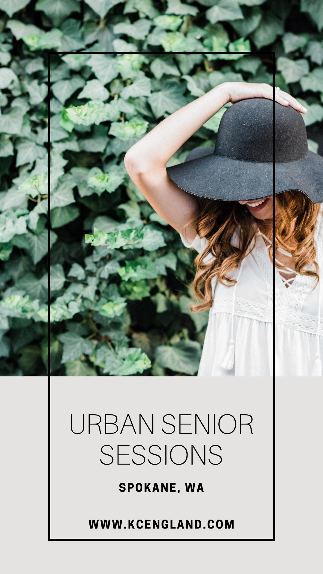Urban Senior Sessions In Spokane, WA