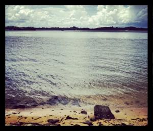 Sit beside the seaside
