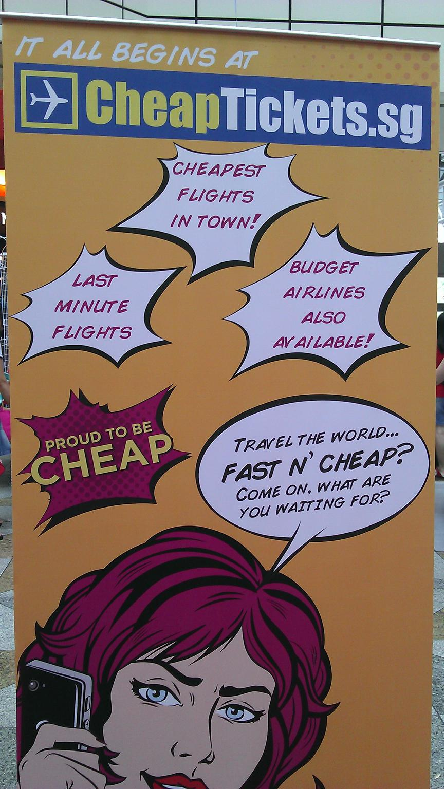 CheapTickets Poster
