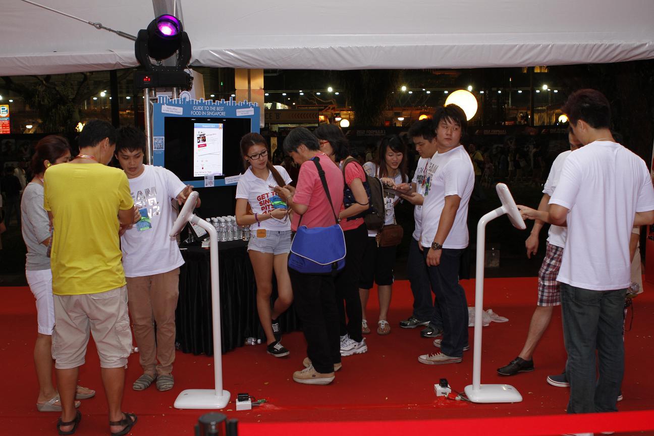 Visitors love the Kiosks