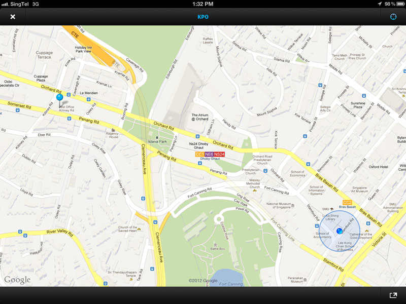 Maps integration