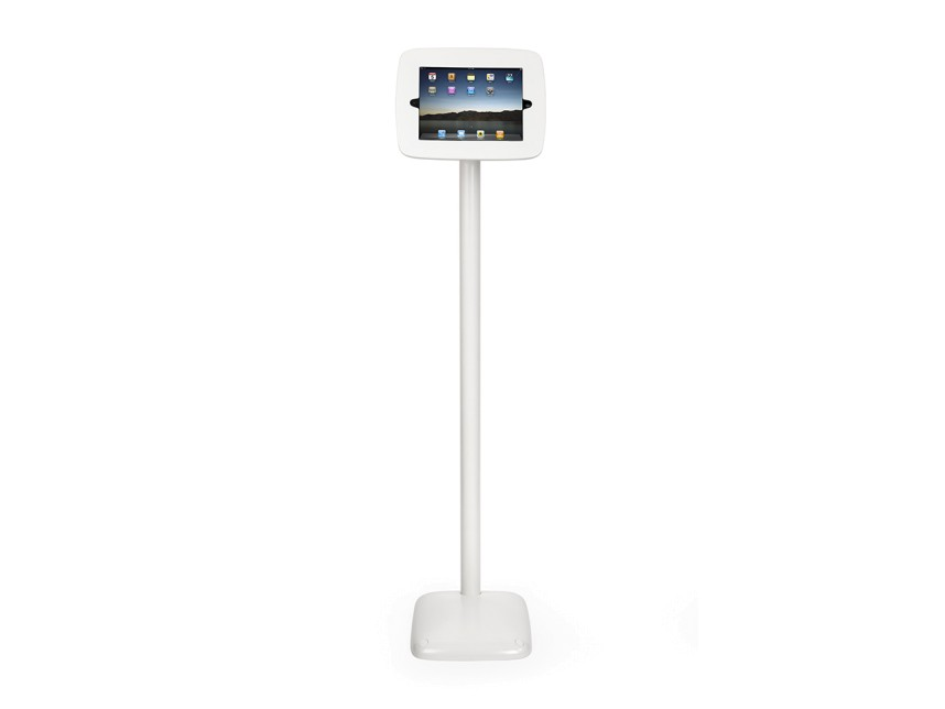 "iPad 9.7"" kiosk floor stand (landscape shown)"
