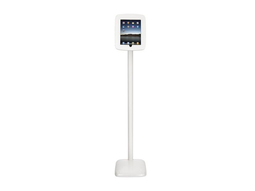 "iPad 9.7"" kiosk floor stand (portrait shown)"