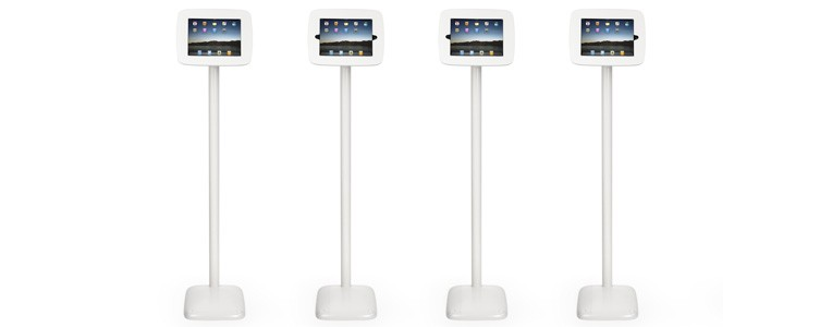 """Dimensions for Floor Griffin Kiosk (White) for iPad 9.7"""""""