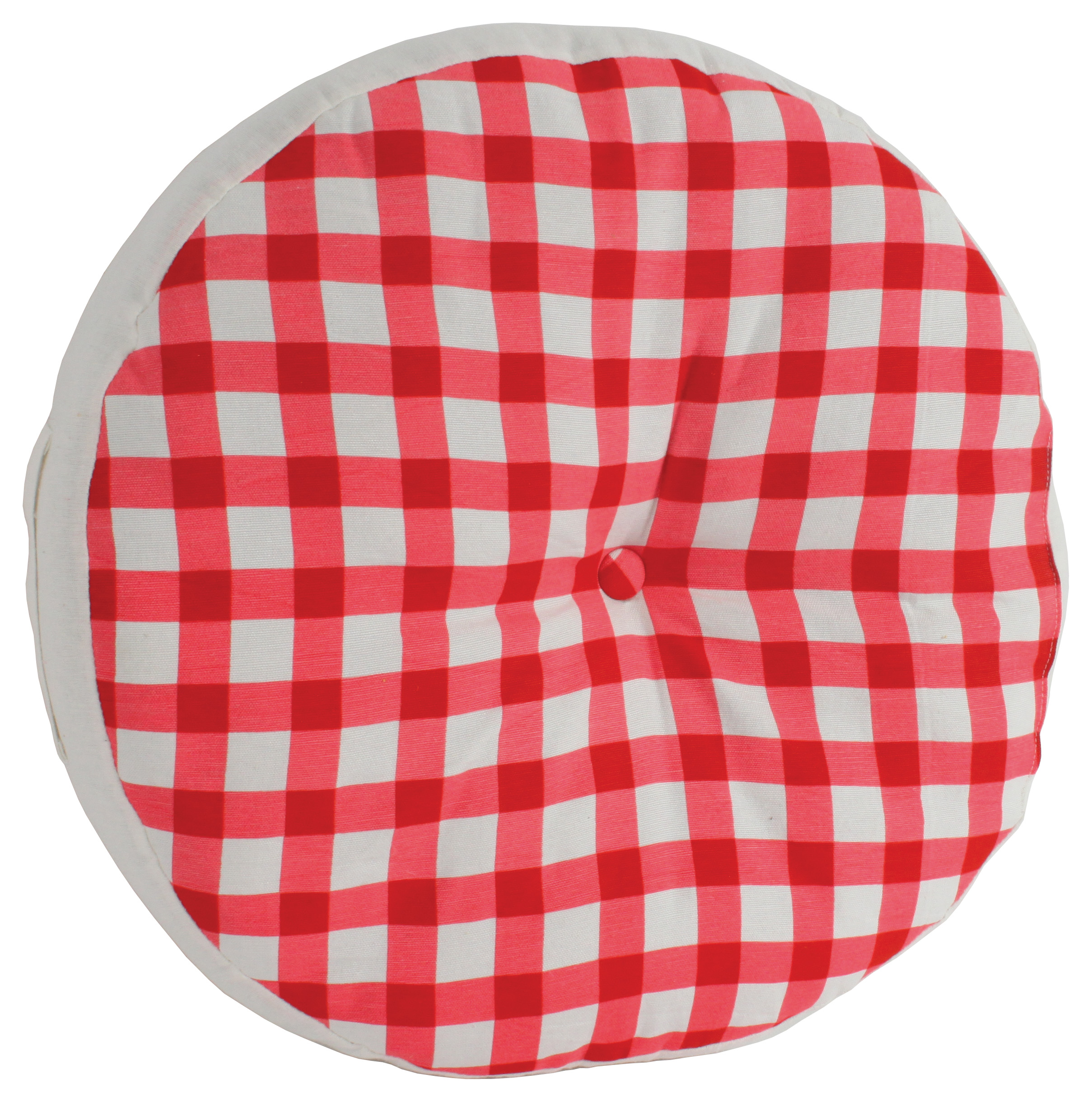 €15 CUSHION W/RED DOTS D-45