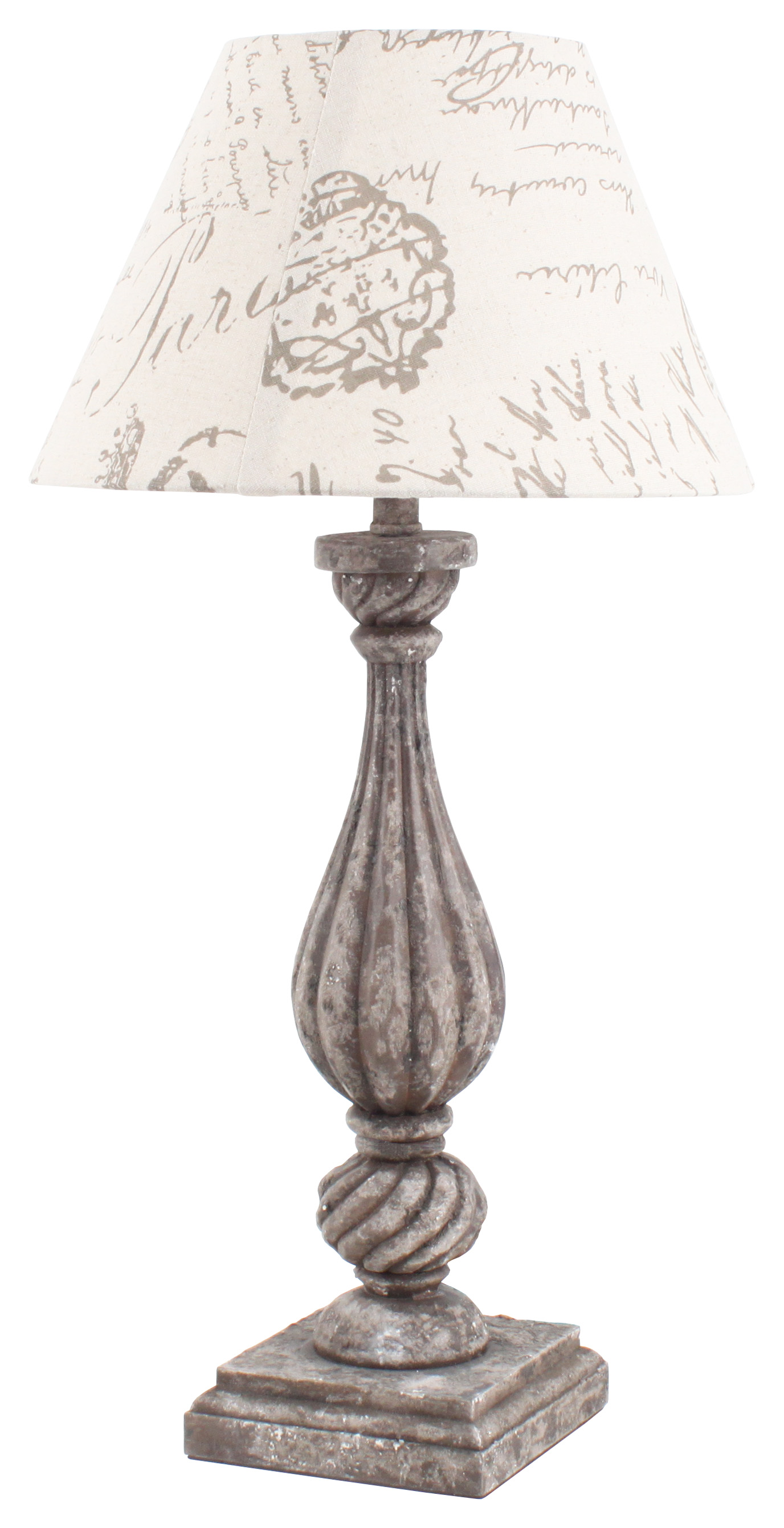 €70 WOODEN TABLE LAMP Η-60