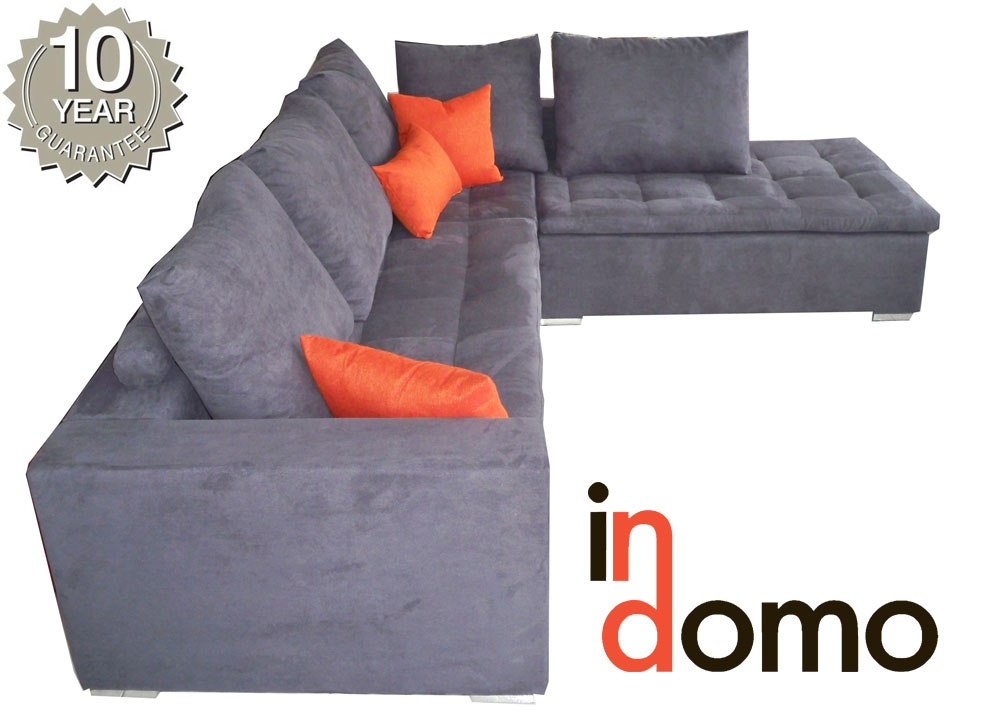 Handmade corner sofa with 10 years guarantee on the frame!