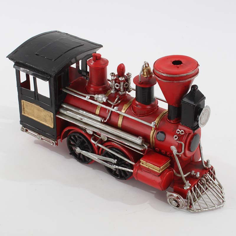 €34 METAL TRAIN IN RED COLOR 25X8X14