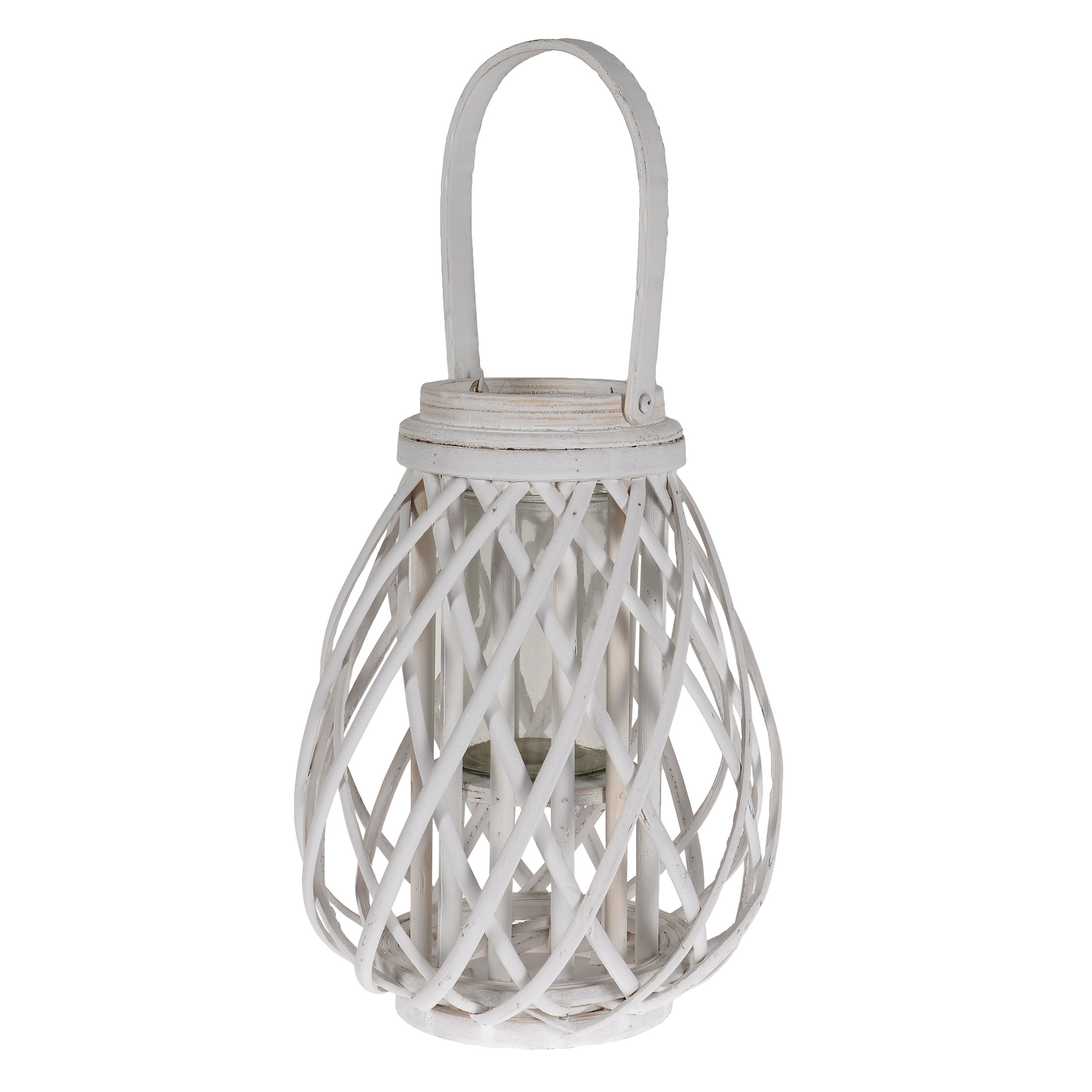 €28 WILLOW LANTERN IN WHITE COLOR 24Χ34/54