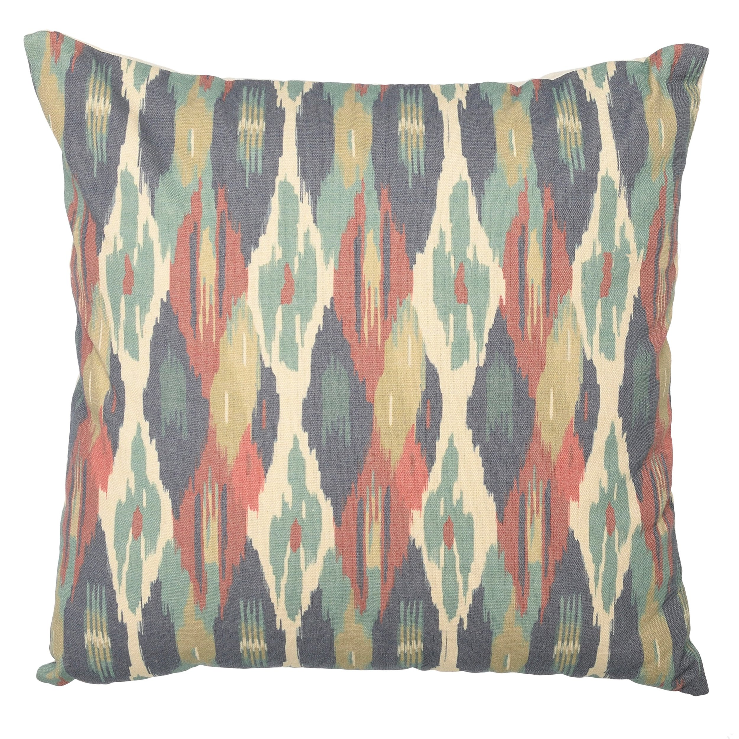 €18 FABRIC FILLING CUSHION IN MULTI COLOR 40X40
