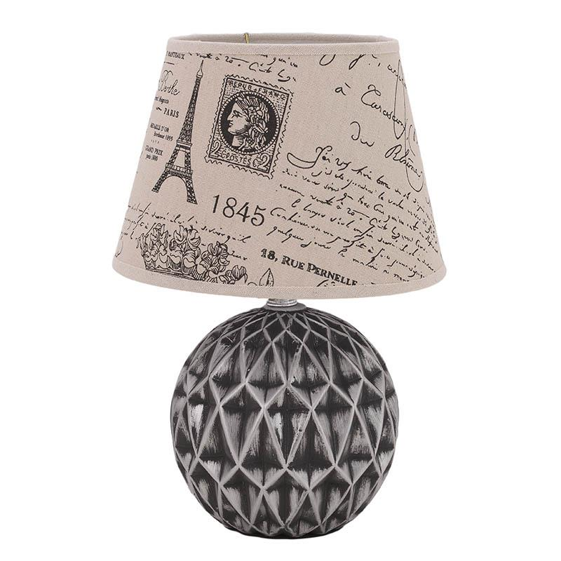 €22 CERAMIC TABLE LAMP 23X23X35