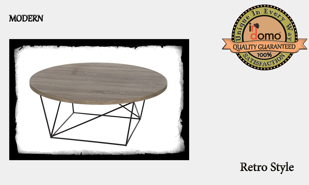CUSTOM-MADE MODERN RETRO STYLE coffee table PERSONALISED BY YOUR CHOICE OF PAINTS AND DIMENSIONS. R-100 (TO ORDER AT €250)