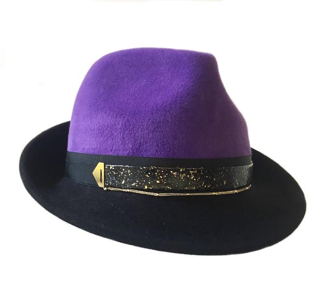 Purple Crown Trilby