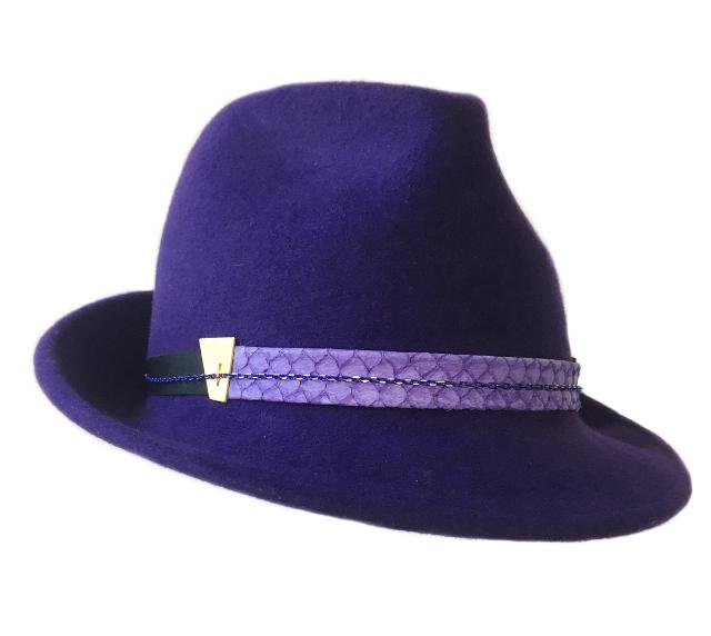 Purple Trilby
