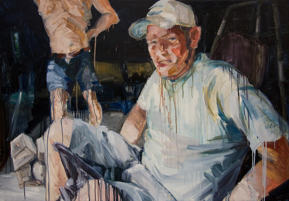 Johnny Go Riding 2, 36 inches x 52 inches, oil on canvas, 2012