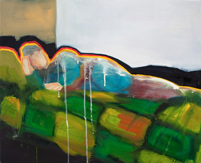 Untitled (Man of Tomorrow 07), 16 x 20 inches, oil on canvas, 2010