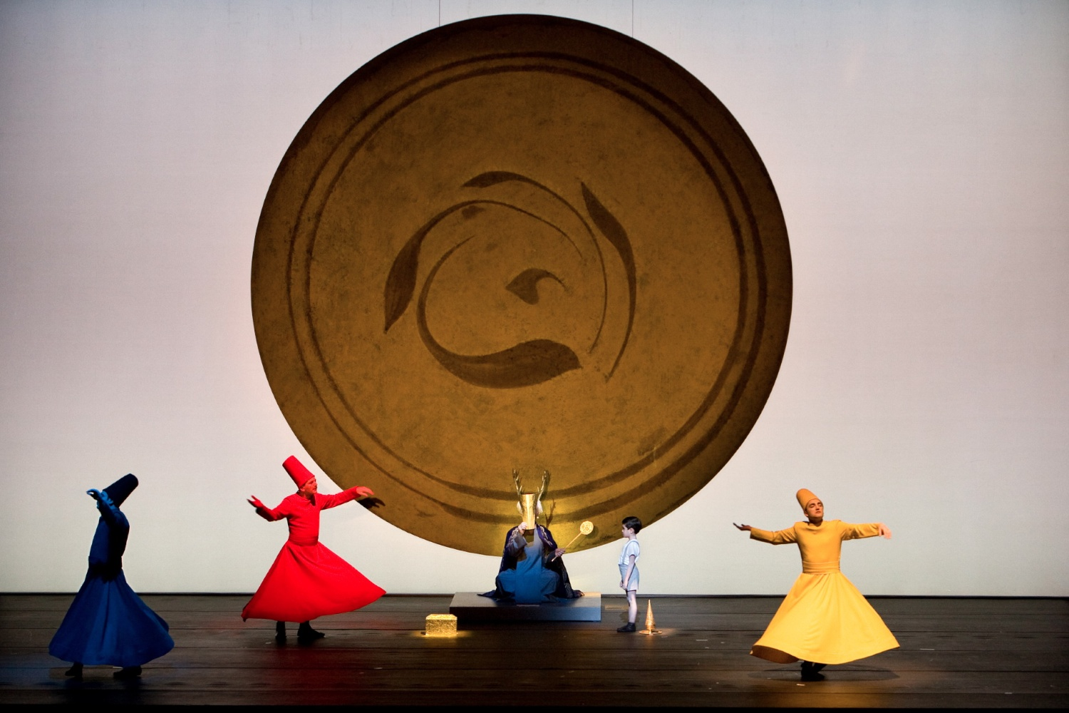 Rumi In the Blink of the Eye Pallas Theater, Athens, 2008 © photo by Luciano Romano (photo courtesy of Change Performing Arts)