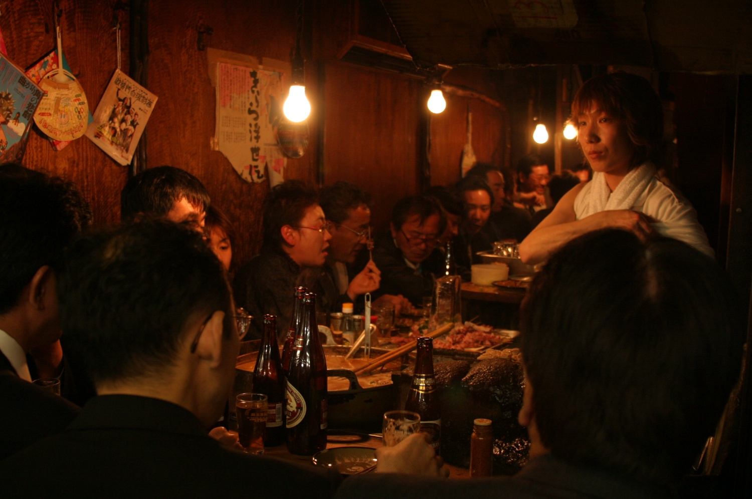Diners Tokyo 04/2004   © photo by AJ Weissbard