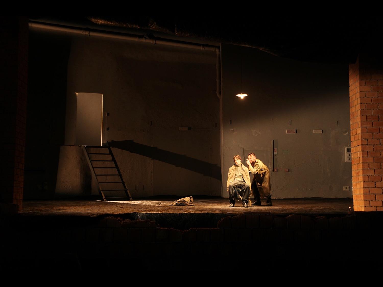 In the Company of MenTeatro Grassi, Piccolo Teatro, Milan, 2011 © photo by AJ Weissbard