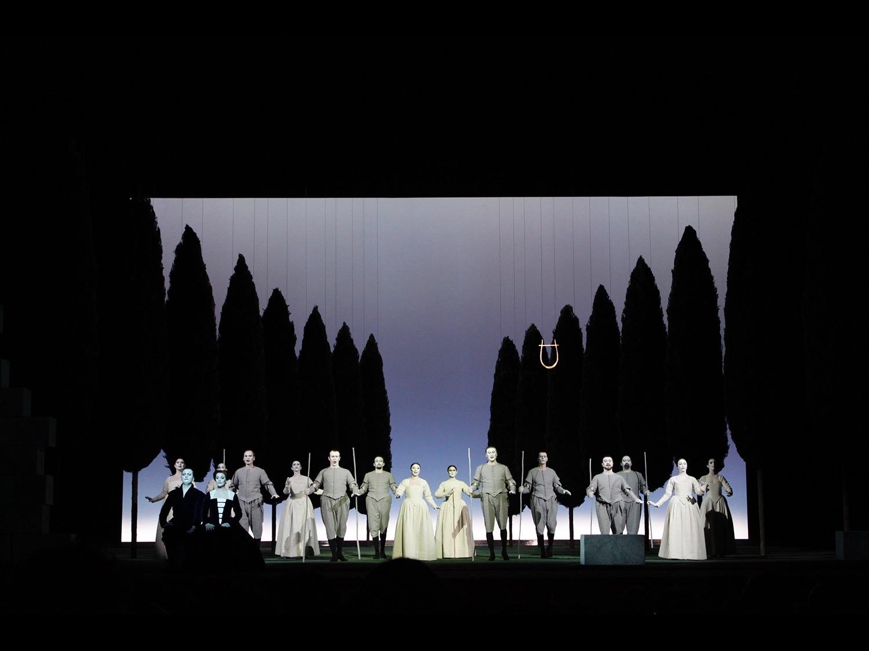 L'Orfeo Teateo alla Scala Milan, 2009 ©photo by AJ Weissbard