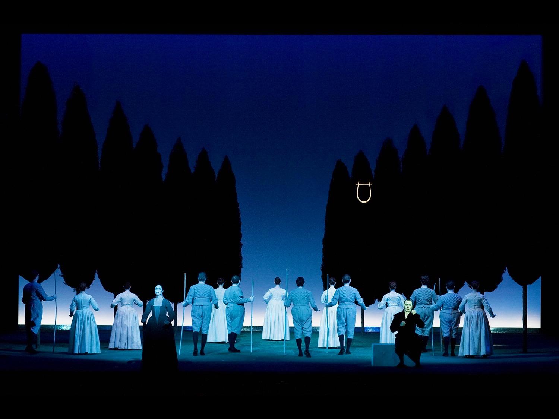 L'Orfeo Teateo alla Scala Milan, 2009 ©photo by Lelli e Masotti (photo courtesy of Teatro alla Scala)