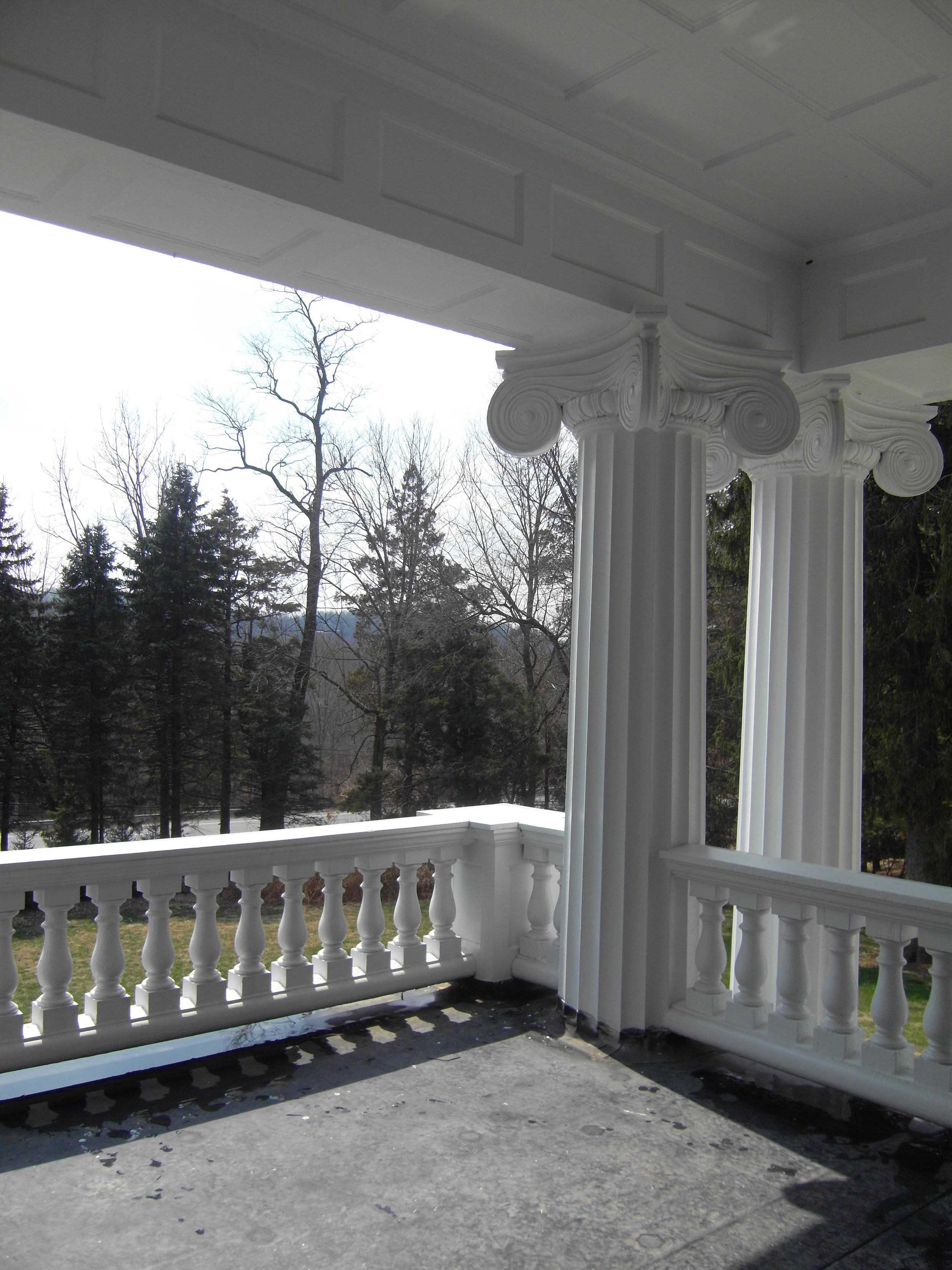 Before: Outdoor Patio