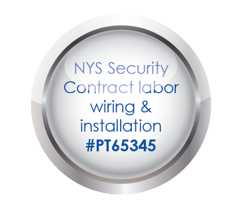 NYS Security Contract labor Wiring & Installation #PT65345