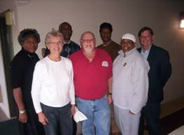 Pictured above are members of the Anti-Racism Team