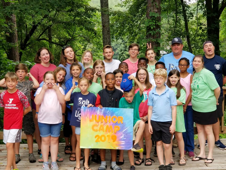 Junior Camp 2019 - Children in Grades 3-5 are involved in this group each summer for a week of wonder.