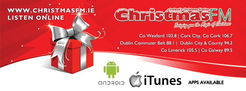 Christmas FM will be Jingle Bell Rock-ing from Thursday, 28th November at 8am