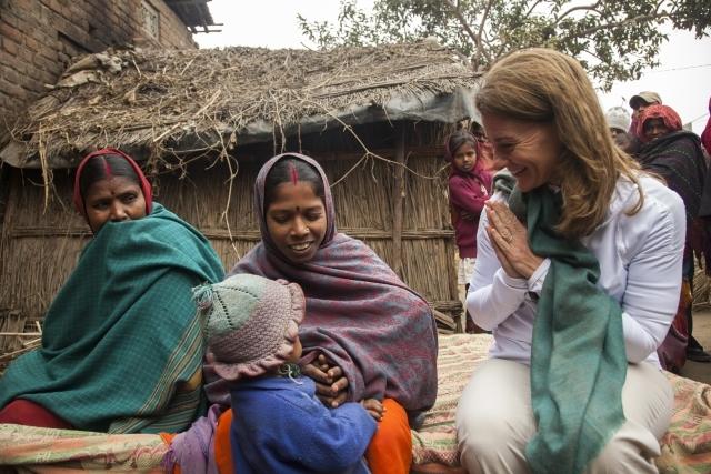 Dedaur village, India, 2013. Photo from: http://annualletter.gatesfoundation.org/