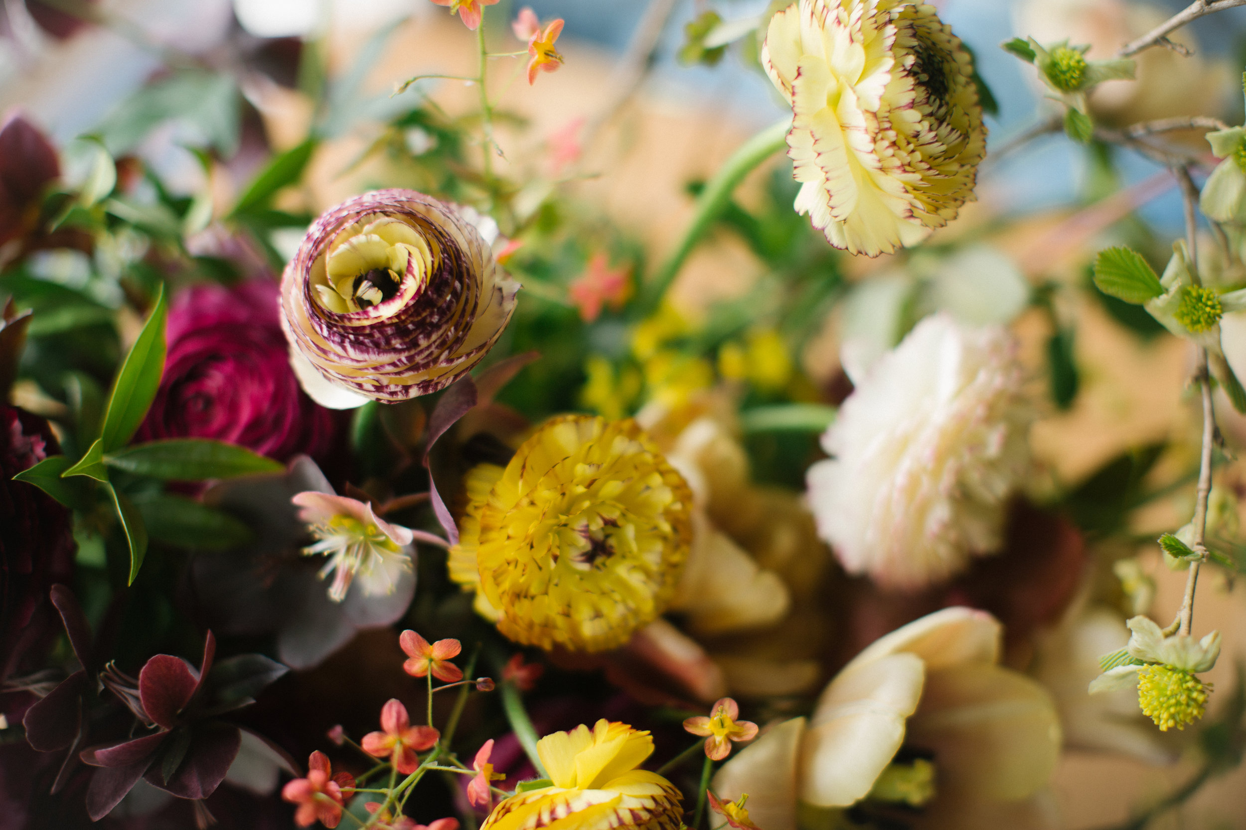 Kailla Platt flowers Dame Restaurant