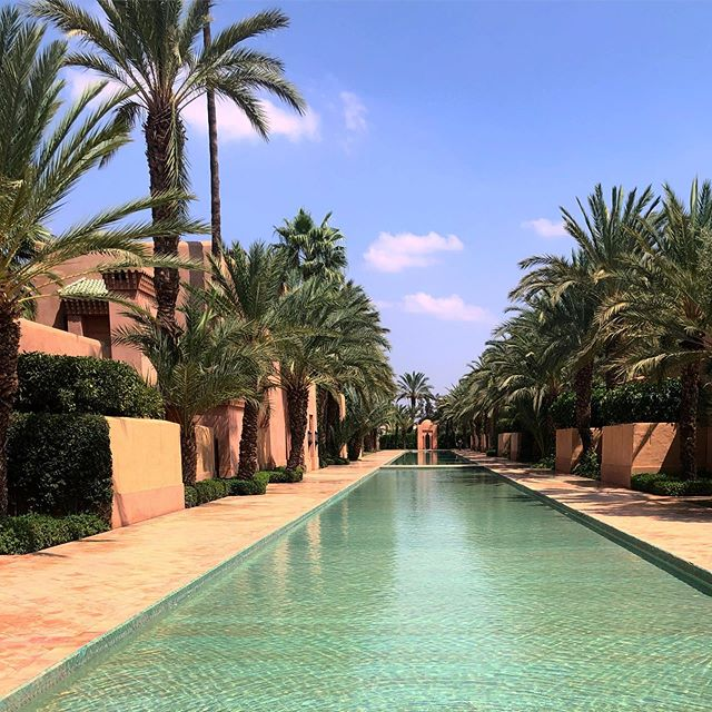 No surprise, @amanjena_resort right outside Marrakech is 😍😍😍. @aman @thesmartflyer