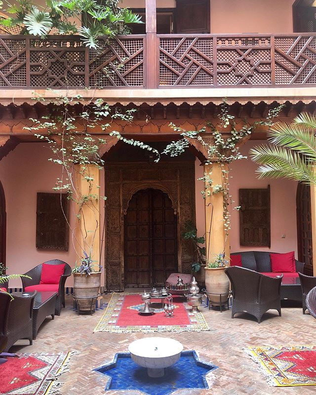 The courtyards of Marrakech make this city so enchanting. A surprise behind every corner.