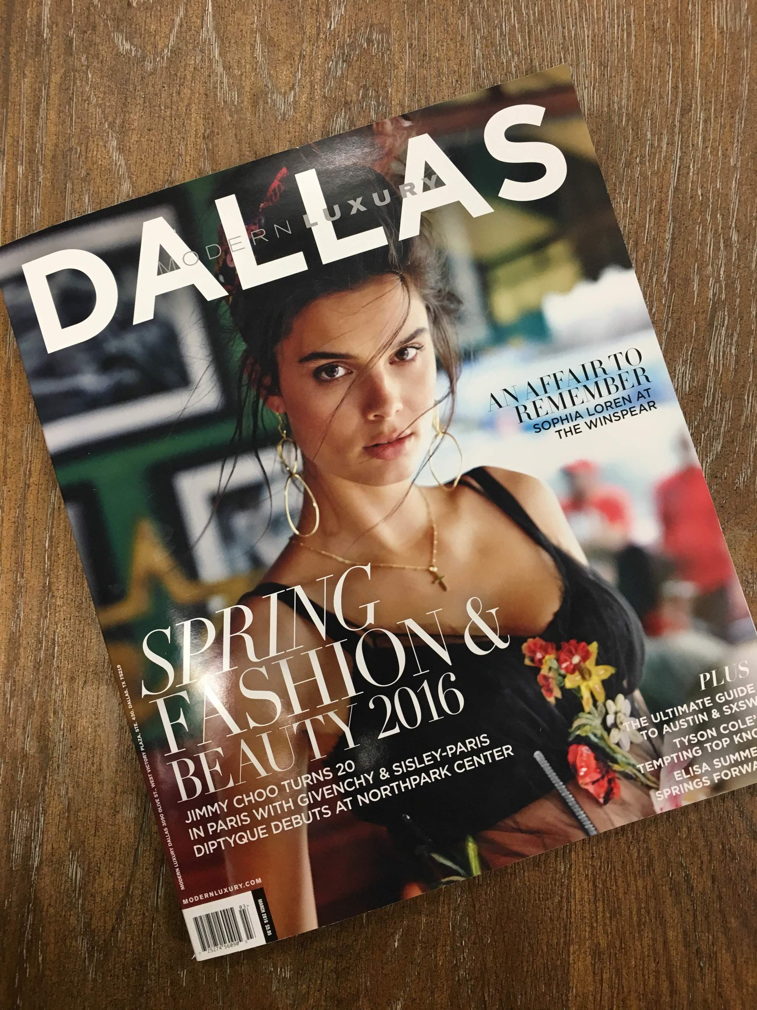 Modern Luxury Dallas Cover