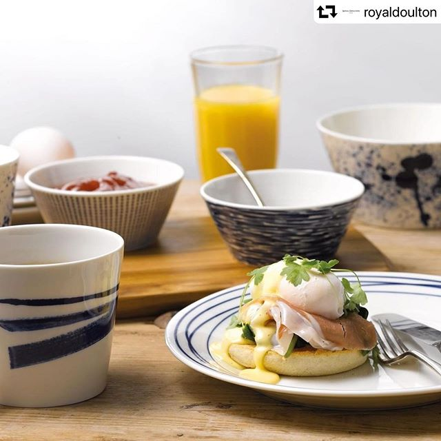 Styling work for @royaldoulton earlier this year with @blackvelvetstyling 📷 Mark Duckett #foodstylist #foodstylistmanchester #productphotography #breakfast