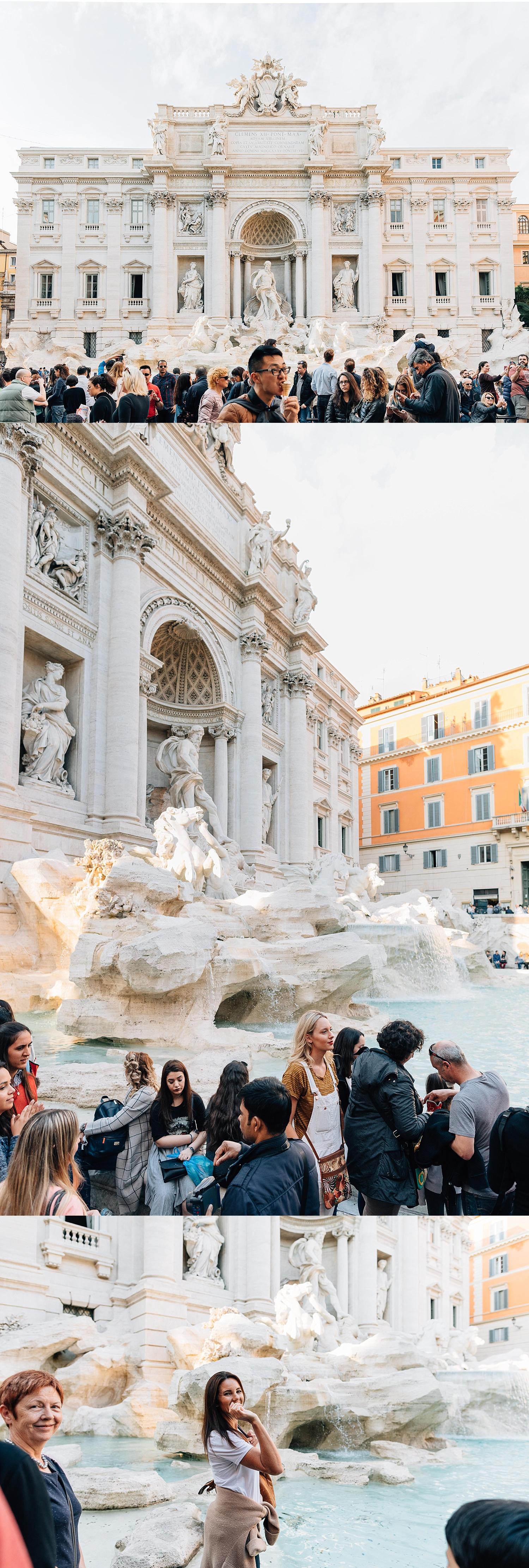 Fontana di Trevi - The Trevi Fountain
