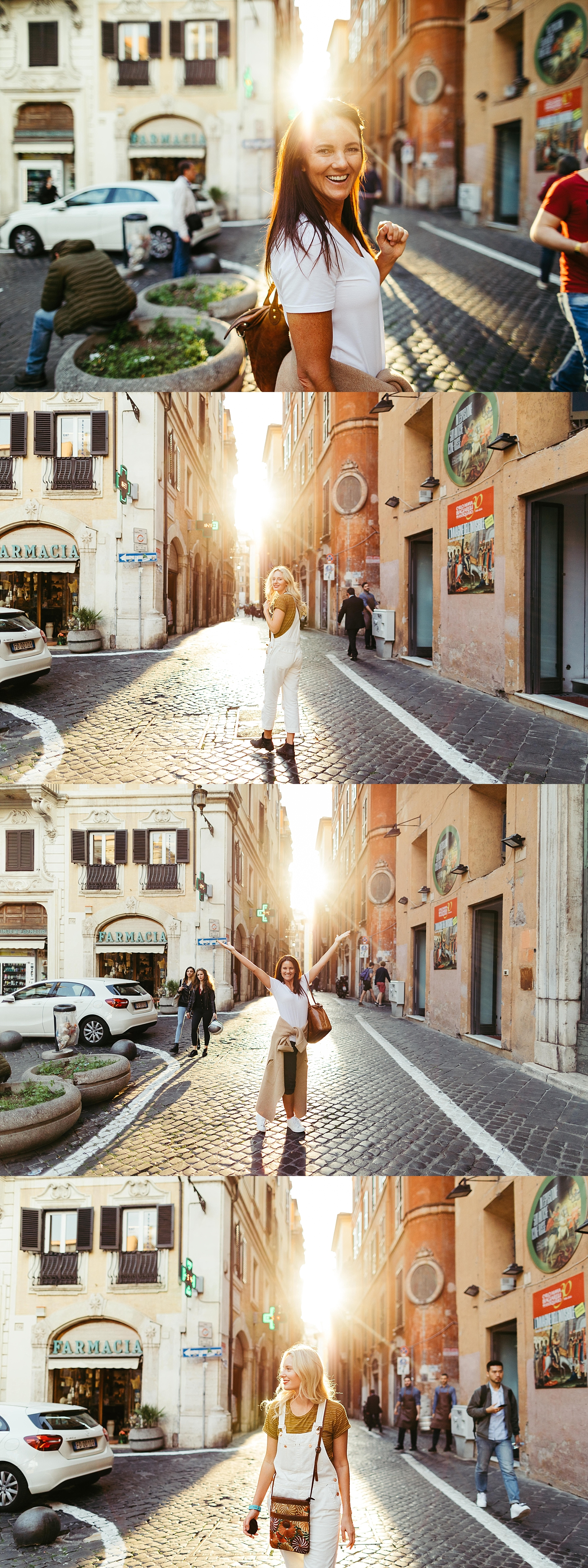 Rome, Italy | golden streets