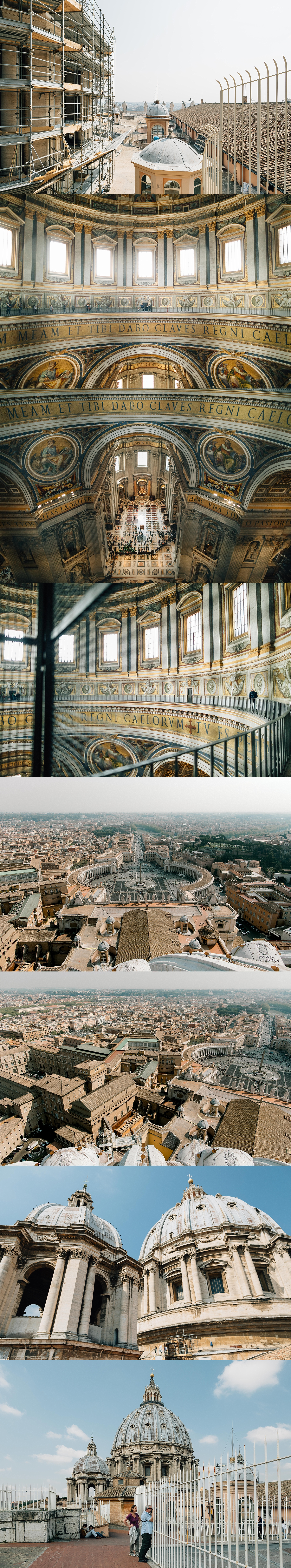 St. Peter's Basilica's dome.